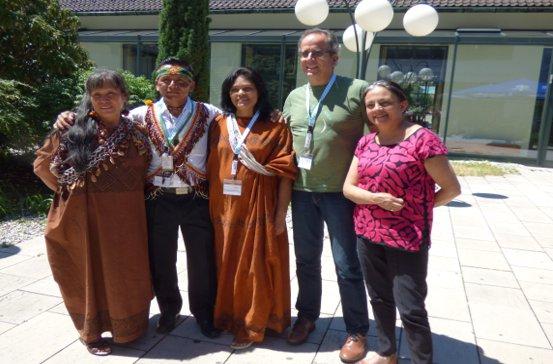 img-1546475093894925c0e8a4326af5 Foto: Indigene Delegierte und weitere Gäste aus Lateinamerika beim Kongress Buen Vivir- Das gute Leben 2017 in München.<br /> Fotograf: Michael Nagy